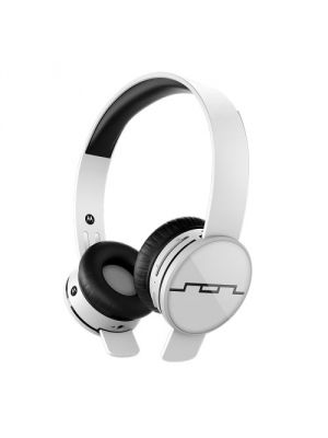SOL REPUBLIC 1430-02 Tracks AIR On-Ear Wireless Headphones, Ice White