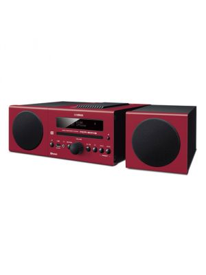 Yamaha MCR-B043BU 30W Bluetooth Wireless Music System (Red)