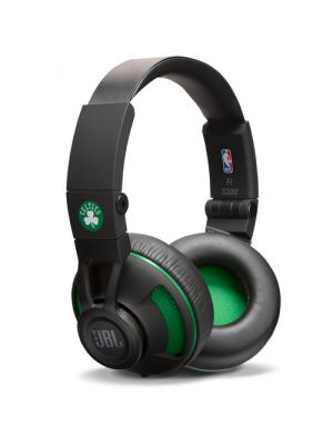 JBL Synchros S300 NBA Edition On-Ear Headphones (Boston Celtics)