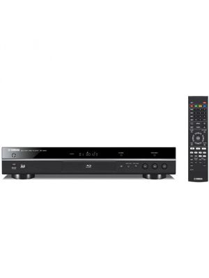 Yamaha BD-S681 4K-Upscaling Wi-Fi and 3D Blu-ray Disc Player (Black) [BD-S681BL]