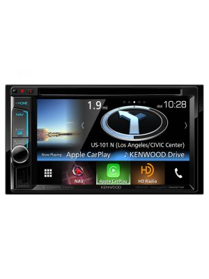Kenwood DNX573S 2-Din AV Multimedia Navigation System with Bluetooth & HD Radio