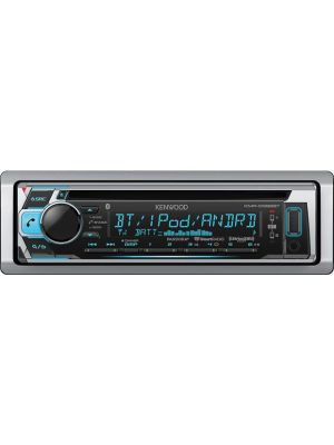 Kenwood KMR-D368BT Marine CD receiver with Bluetooth
