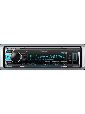 Kenwood KMR-M318BT Marine digital media receiver with Bluetooth (does not play CDs)