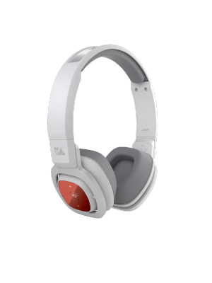 JBL J56BT Wireless On-Ear Headphones (White)