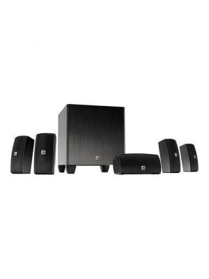 JBL Cinema 610 Advanced 5.1 Home Theater Speaker System with Powered Subwoofer