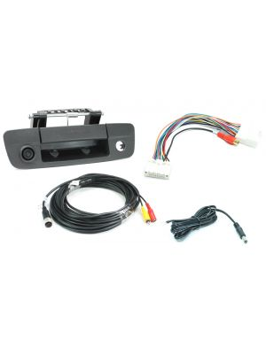 Rostra 250-8408-LC RearSight CMOS Tailgate Handle Camera /w LCD Interface Harness (2508408LC)