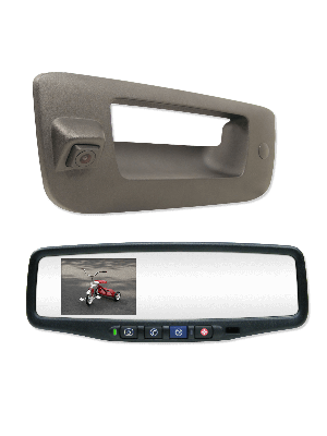 Rostra 250-8802-LCH Complete Mirror/ Camera System Rearsight
