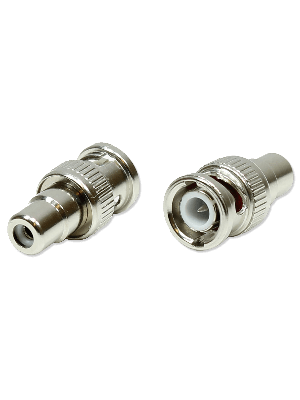 Rostra 250-8905 BNC-to-RCA Video Connector