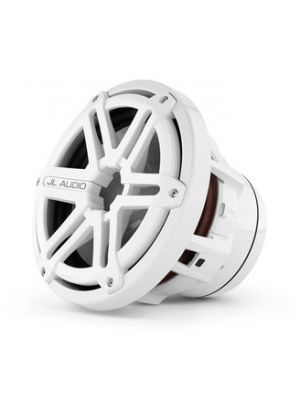 JL Audio M8IB5-SG-WH 8-inch (200 mm) Marine Subwoofer Driver, White Sport Grilles, 4 Ω (M8IB5SGWH)