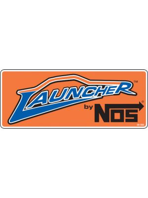 Holley 36-396 Nos Launcher Contingency Decal