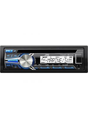JVC KD-R85MBS Marine/Motorsports CD/USB Receiver with Bluetooth [KDR85MBS ]