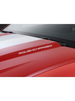Roushperf 40125 (2010-2014) ROUSHcharged Mustang & F-150 Hood Decal Set Red