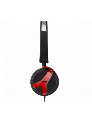 AKG K518 LE Limited Edition Folding On-Ear Headphones (Red)