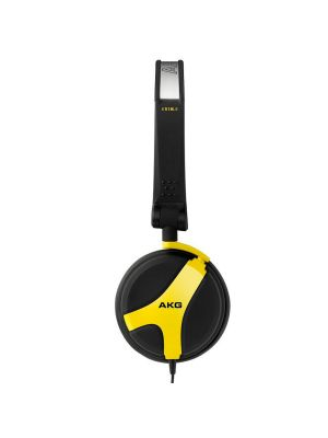 AKG K518 LE Limited Edition Folding On-Ear Headphones (Yellow)