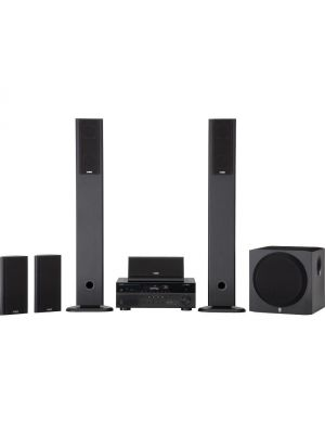 Yamaha YHT899UBL High Quality Durable 115W 5.1 Channel AV Home Theater System