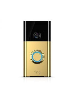RING Video Doorbell 88RG101FC100 Polished Brass