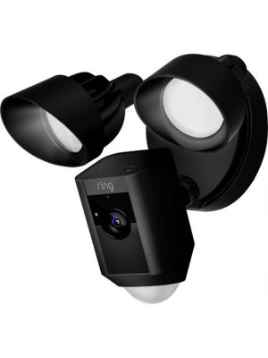 Ring 88FL001CH000 Outdoor Wi-Fi Cam with Motion Activated Floodlight - Black