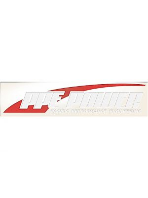 Pacific Cargo 588001603 PPE Power Old Decal 30 X 6
