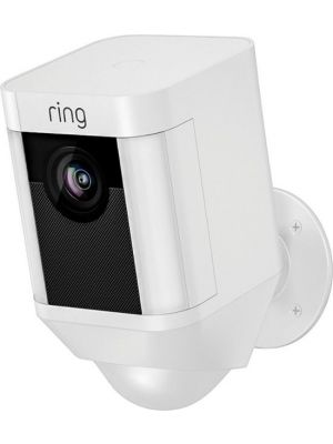 Ring 8SB1S7-WEN0 Spotlight Camera Battery Powered - White