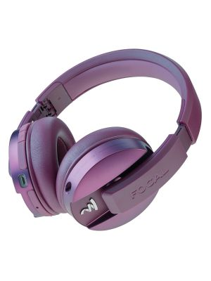 Focal FLISTENWL-PP Listen Circum Aural Premium Wireless Closed Back Headphones with 4.1 Wireless Technology aptX Compatible and Controls for Call & Music - Purple