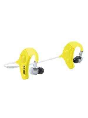 Denon AH-W150YW Exercise Freak™ Wireless Bluetooth In-Ear Headphones (Yellow) (AHW150YW) (AH-W150) (AHW150)
