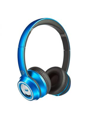 Monster® NC-MH-NTU-ON-C-BL-WW NCredible NTune HD Candy On-Ear Headphones with ControlTalk Universal™ (Blue)