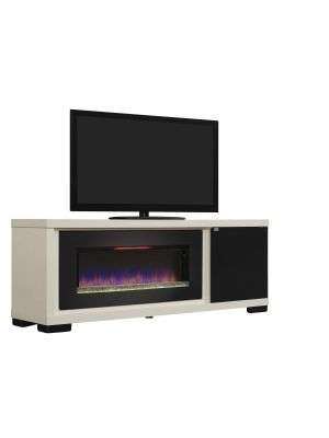 ClassicFlame Brickell Infrared Media Mantel - Antique White 47IMM4931-T406