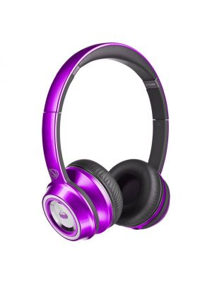 Monster® NC-MH-NTU-ON-C-PU-WW NCredible NTune HD Candy On-Ear Headphones with ControlTalk Universal™ (Purple)