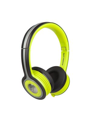 Monster® MH-ISRT-FRE-ON-GR-BT-WW iSport Freedom Wireless On-Ear Headphones (Green and Black)