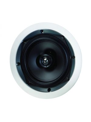 Paradigm® CS-60R V2 - CS Series In-Ceiling/In-Wall Speaker, Single (White, Paintable)