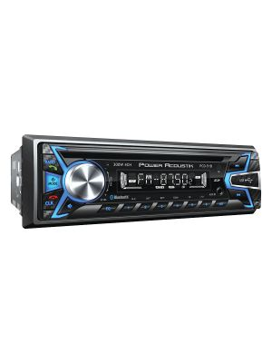 Power Acoustik PCD51B 1DIN CD/MP3/AM/FM Receiver with SD/USB Playback and Bluetooth