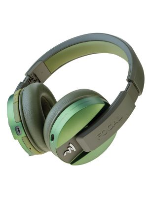 Focal FLISTENWL-GR Listen Wireless Over-Ear Headphones with Microphone (Green)
