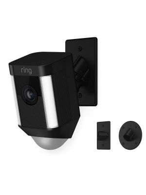 RING 8SH5P7-BEN0 Black Spotlight Cam Mount