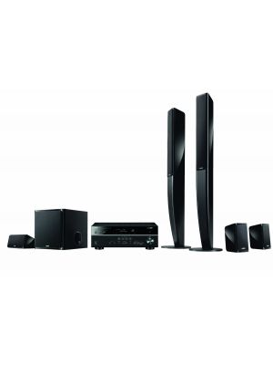 Yamaha YHT-699UBL High Quality Durable 115W 5.1 Channel USB Home Theater System
