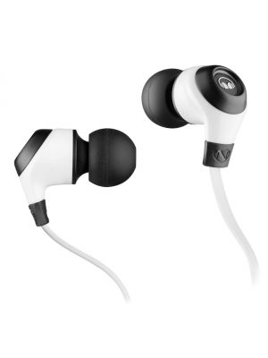 Monster® NC-MH-NRG-IE-WH-CU-WW NCredible NErgy In-Ear Headphones with ControlTalk Universal™ (White)