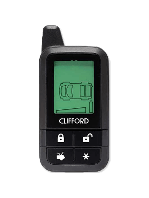 Directed 7345X Clifford 7345X Responder Remote LCD 434MHZ