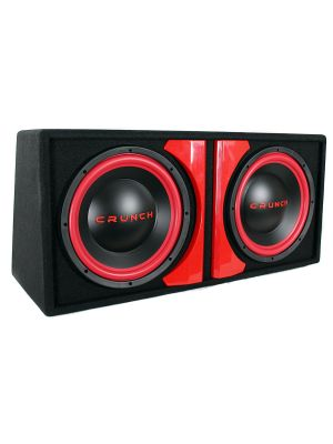 Crunch Cr212a Cr-212a Powered Dual 12 Subwoofer System