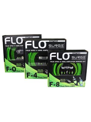 Surge  F-0 0 Gauge FLO Series Amp Kit