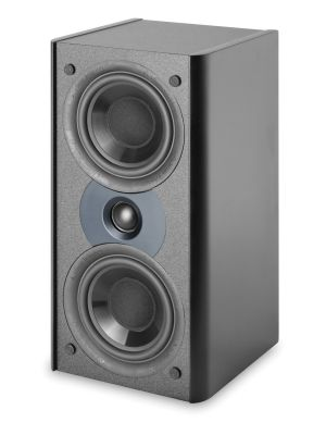 Atlantic Technology AC-2400LR-P-BLK 2400 Series Front Channel Speaker, Single (Black)