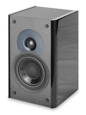 Atlantic Technology AC-1400LR-S-BLK 1400 Series Front Channel Speaker, Single (Black)