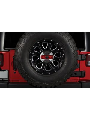 Alpine HCE-TCAM1-WRA Spare Tire Rear View Camera and Light System for 2007-Up Jeep Wrangler