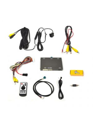 Brandmotion 9002-7774 BMW Dual Video Input Rear Vision System for 6-button Factory Display Radios