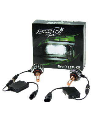 Race Sport 9004-LED-G3-KIT 9004 Generation 3 2,700 Lux LED Headlight