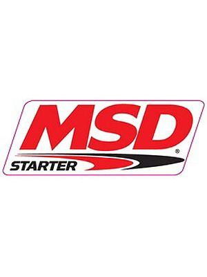 MSD Ignition 9291 Decal Contingency MSD Df Starter 9