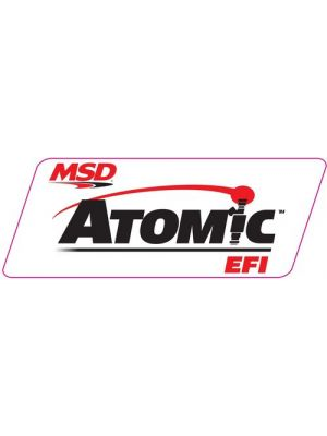 MSD Ignition 9292 Decal Contingency Atomic EFI 9