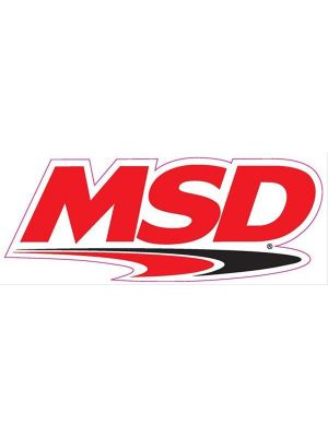 MSD Ignition 9300 Decal MSD Logo 9