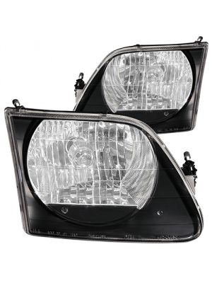 Anzo ANZ111083 Black Headlights for Ford 1997 - 2002 F150