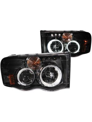 Anzo ANZ111198 Black Projector LED Headlights G2 for Dodge Ram 1500/2500/3500 2003 - 2005