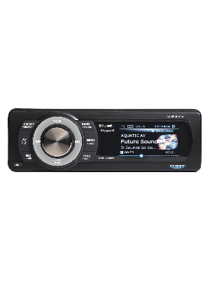 Aquatic AV AQ-MP-5UBT-S Bluetooth USB  SiriusXM Waterproof Marine Stereo (AQMP5UBTS)