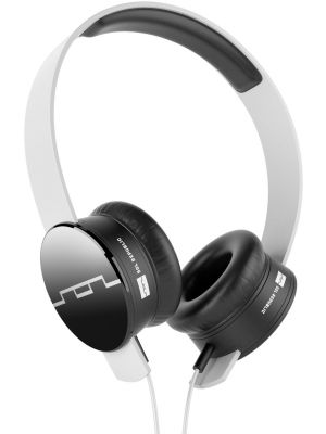 SOL REPUBLIC 1211-02 Tracks On-Ear Headphones with Three-Button Remote and Microphone, White
